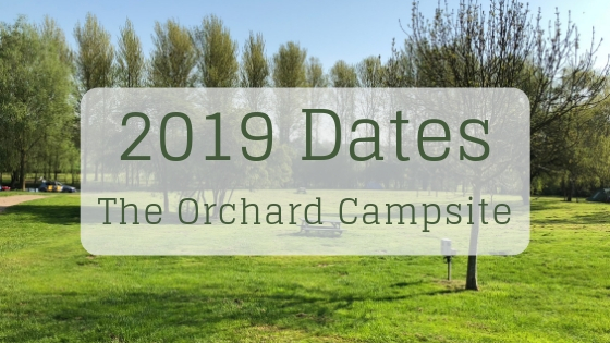 Dates for your diary image 2019