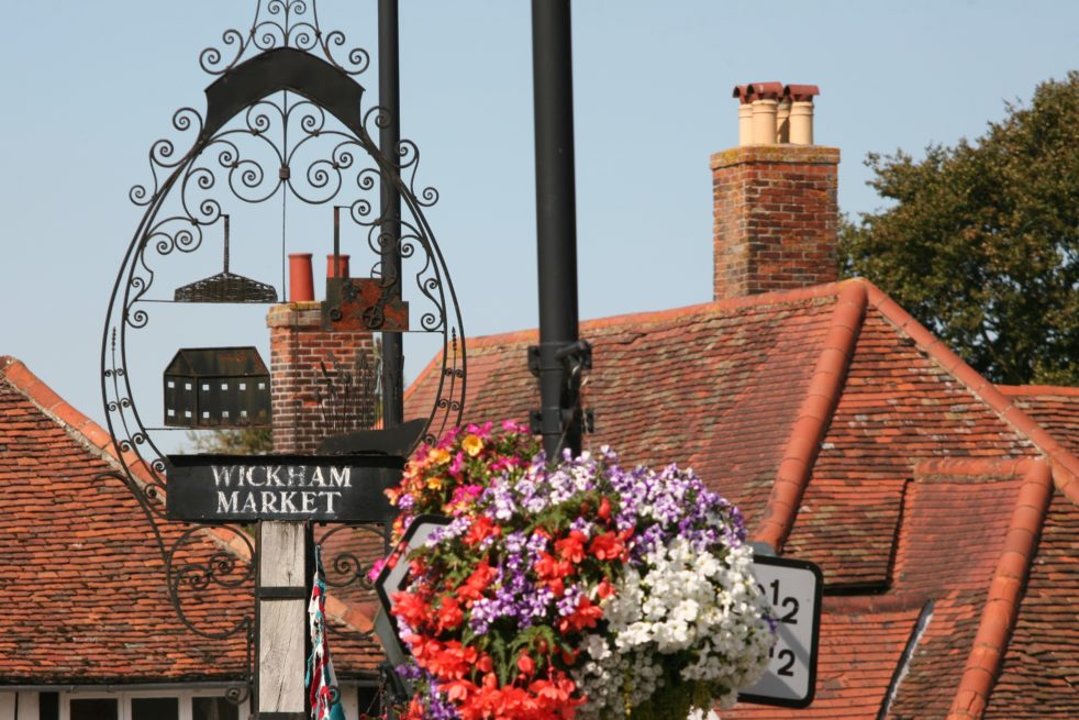 Wickham Market Village Sign